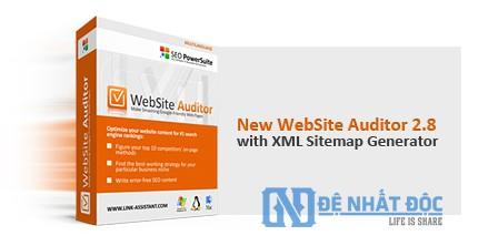 Phần mềm Website Auditor
