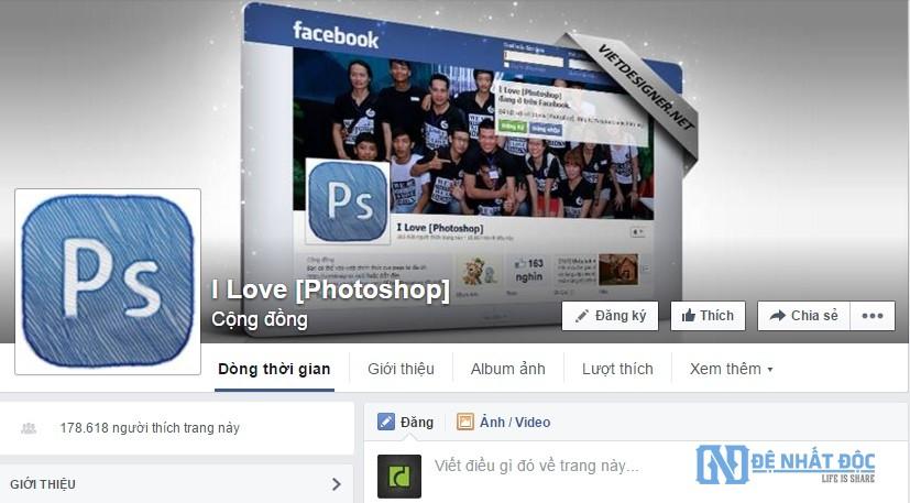 Thiết kế yếu tố đầu tiên mọi người chú ý đến khi truy cập vào Fanpage của bạn