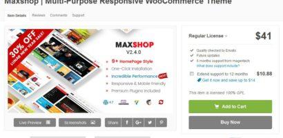 Chia sẻ Theme MaxShop Việt hóa mới nhất