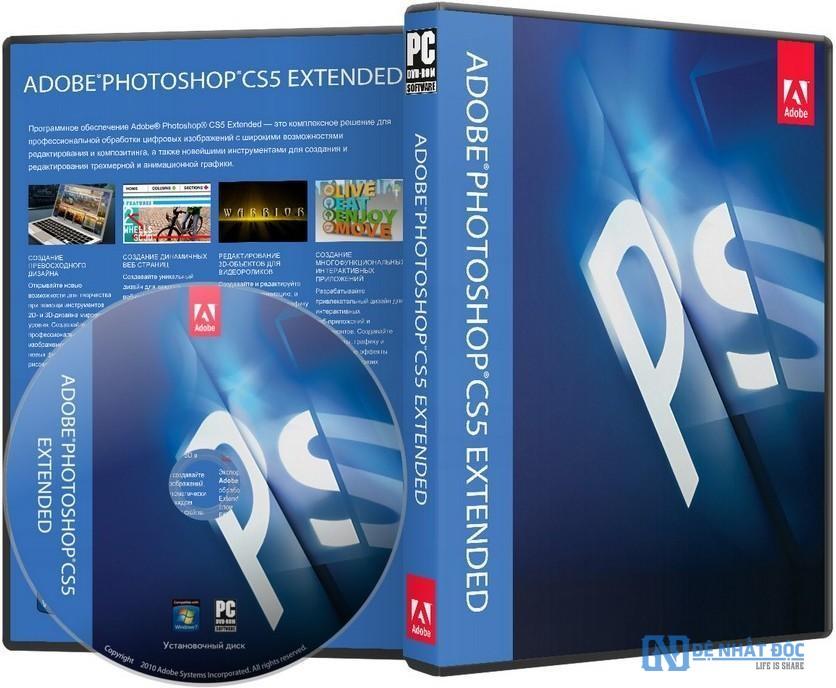 Bộ phần mềm Adobe Photoshop CS5