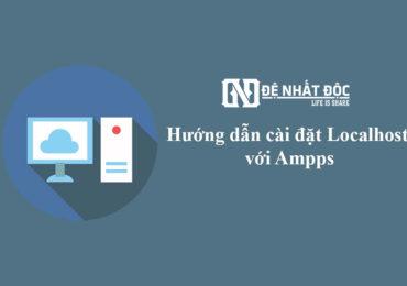Tạo Hosting Offline với Localhost và Ampps ngay trên máy tính