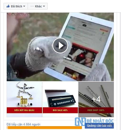 Bài viết có cả video và hình ảnh cùng lúc