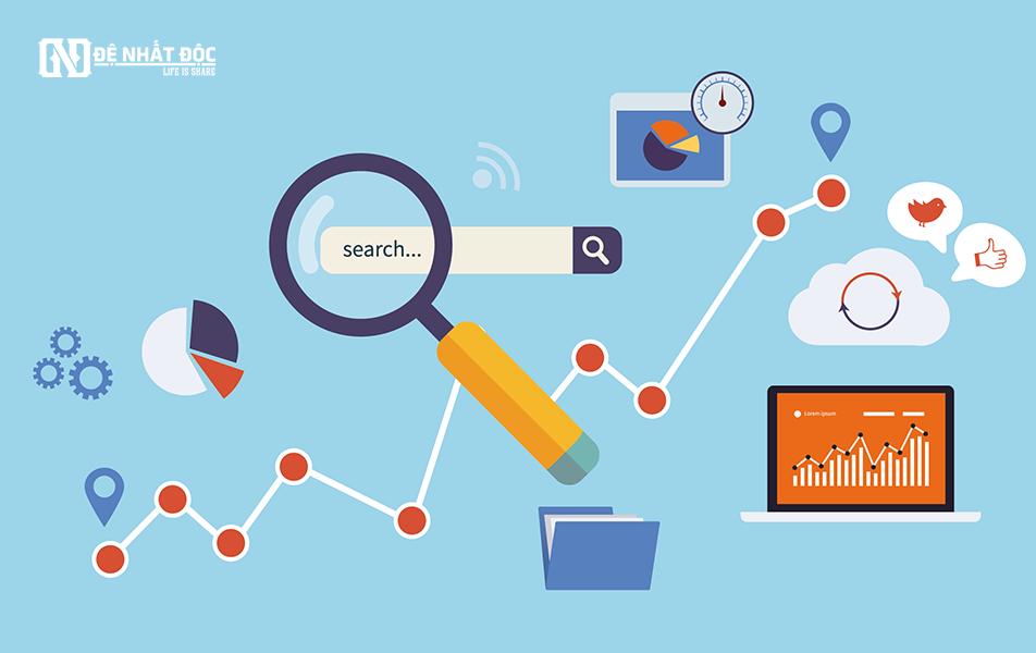 Tìm kiếm từ khóa trên google cũng được rất nhiều người áp dụng