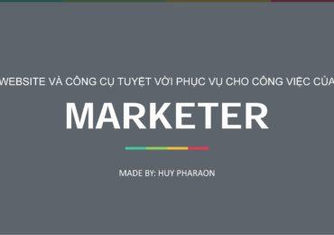 Tổng hợp các Website không thể thiếu đối với Marketer