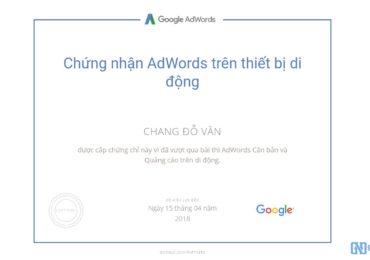 Trọn bộ câu hỏi thi chứng nhận Google AdWords Mobile