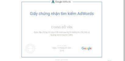 Trọn bộ câu hỏi thi chứng nhận Google AdWords nâng cao