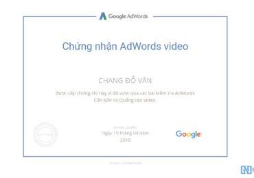 Trọn bộ câu hỏi thi chứng nhận Google AdWords Video