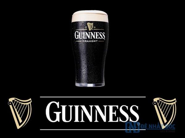 Quảng cáo Guinness làm nơi tuyệt vời của màu đen của loại nước uống