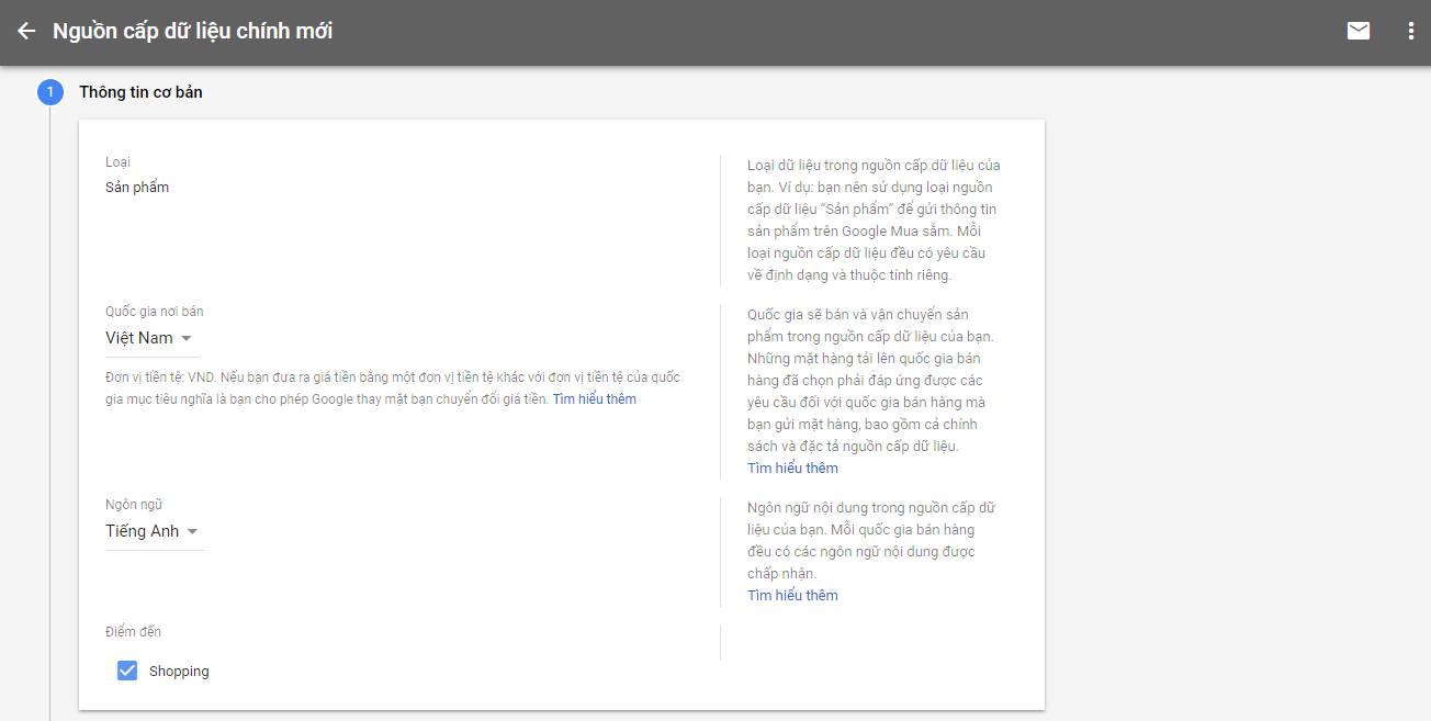 hướng dẫn cài đặt google shopping từ a-z toppick.vn 4